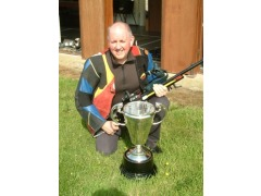 Harry Creevy with the NSRA News of The World Cup when he was victorious in 2012.