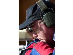 A pensive Will Jones, winner of the Veterans Trophy on Monday evening.