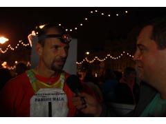 JP chats to Jock at the finish.