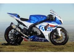 Tyco Suzuki machine in new colours for 2012