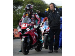 Conor in action at TT
