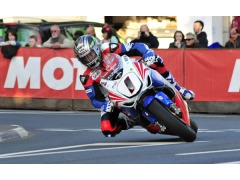 McGuinness recorded week's fastest lap so far at over 129mph.