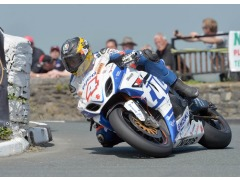 Guy Martin in action at this year's Southern 100