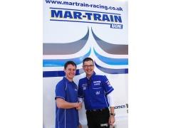 Dean Harrison with Tim Martin