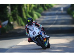 Anstey in action last night