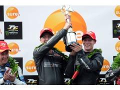 Harrison & Aylott celebrate 1st TT win