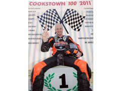 Ryan after his 5 in a day at the Cookstown 100
