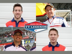 The 2012 Honda TT Legends Team